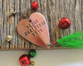 Merry Christmas Fishing Lure Happy Holidays Personalized Gift for Boyfriend's Family Fishing Gift for Christmas Tree Ornament Fishing Gear