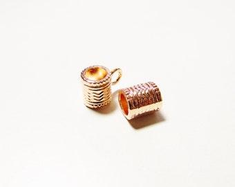 D-02354 - 2 Charm Hanger rose gold color