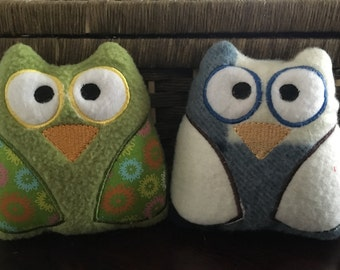 Small Stuffed Owl Toy