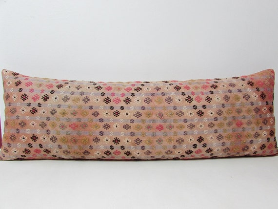 Etsy Large Floor Pillows : 16x48 kilim pillow cover large floor by DECOLICKILIMPILLOWS