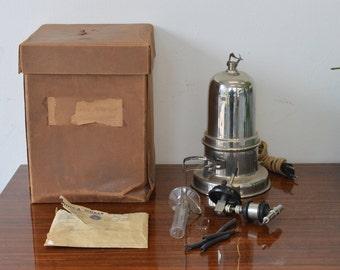 Electric nebulizer 1950s - Old medical instruments