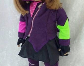 Mal Descendants Costume for American Girl Doll