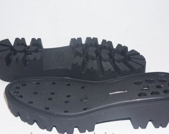 SOLE. Вoots soles-Rubber soles for  feltedet shoes - Winter shoes, snow boots soles - black rubber soles for shoes