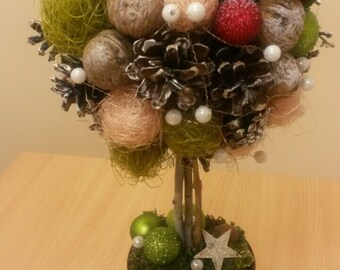 Christmas tree, Christmas gift, decor, ornament