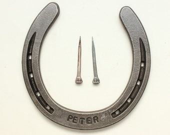 Personalized Horseshoe with Name