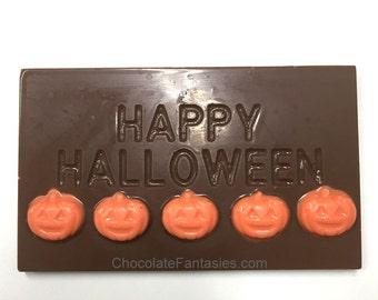 Happy Halloween Chocolate Bar