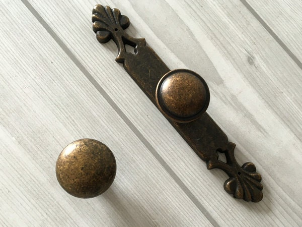 Antique Bronze Cabinet Knobs Door Knob Dresser Drawer Knobs