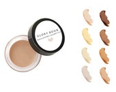 Natural long wear concealer, organic concealer, natural mineral makeup, talc free, bath and beauty, glory boon