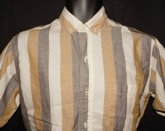 1960s Mens Shirt Sz M Vintage Retro Cruiser