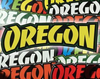 Thrasher Style Oregon Stickers