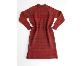 Vintage Sweater Dress // Bernhard Altmann Wien Knit Dress