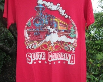 Red South Carolina tshirt