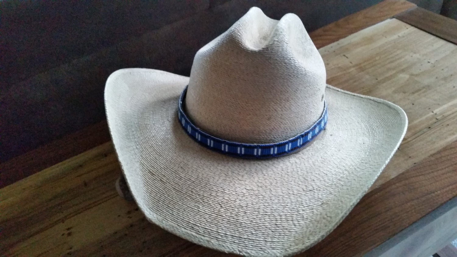 western beaded cowboy hat band by westernwoman21 on etsy