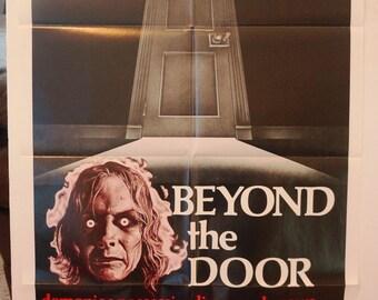 "Movie Poster  ""Beyond The Door""    - Original Movie Poster   1974"