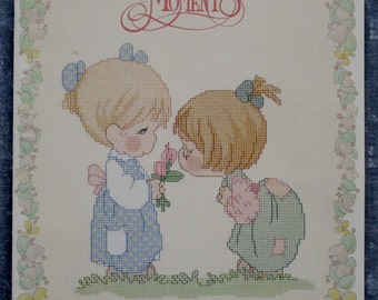 Precious Moments Good Friends Are Forever Cross Stitch Booklet