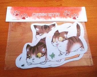 Chibi Kittens - 4 Sticker Pack