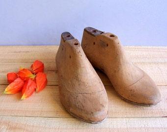 Old Wooden Shoe Molds. Wooden shoe form. Cobbler Molds. Home. Shop Decor