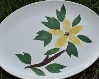 Golden Jasmine Platter and bowl