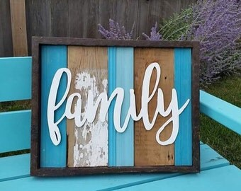 Family laser cut
