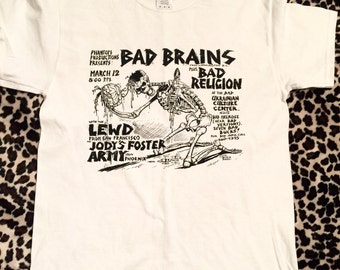 Bad Brains Flyer T-Shirt
