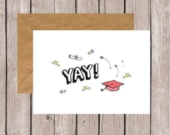 Yay! Graduation Card