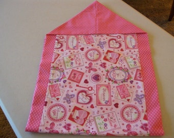 Reversible Valentines Day Table Runner