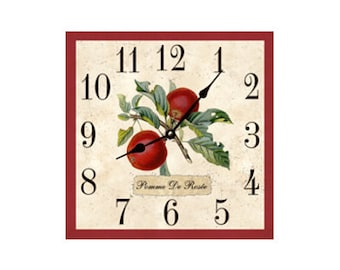 Square Clock- Apple Clock
