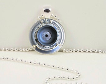 Vintage Camera Lens Pendant