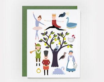 Christmas Card, 12 Days of Christmas