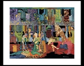 Craft Room, Sewing Room, Wall Decor, Gift For Seamstress, Gift For Quilters, Present, Gustav Klimt, Gifts For Mom, Gifts For Her, Birthday