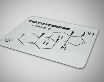 Testosterone mouse pad