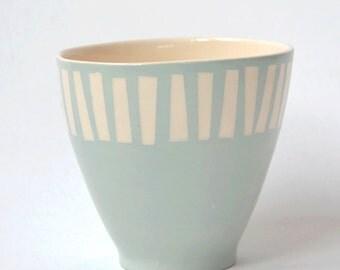 Coffeecup in Icebleu