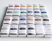 Complete Collection of MAGNETIZED Full Pans from the Main Line, 24 Full Pans of Greenleaf & Blueberry Handmade Watercolors