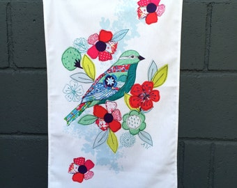 Tea towel- bird design