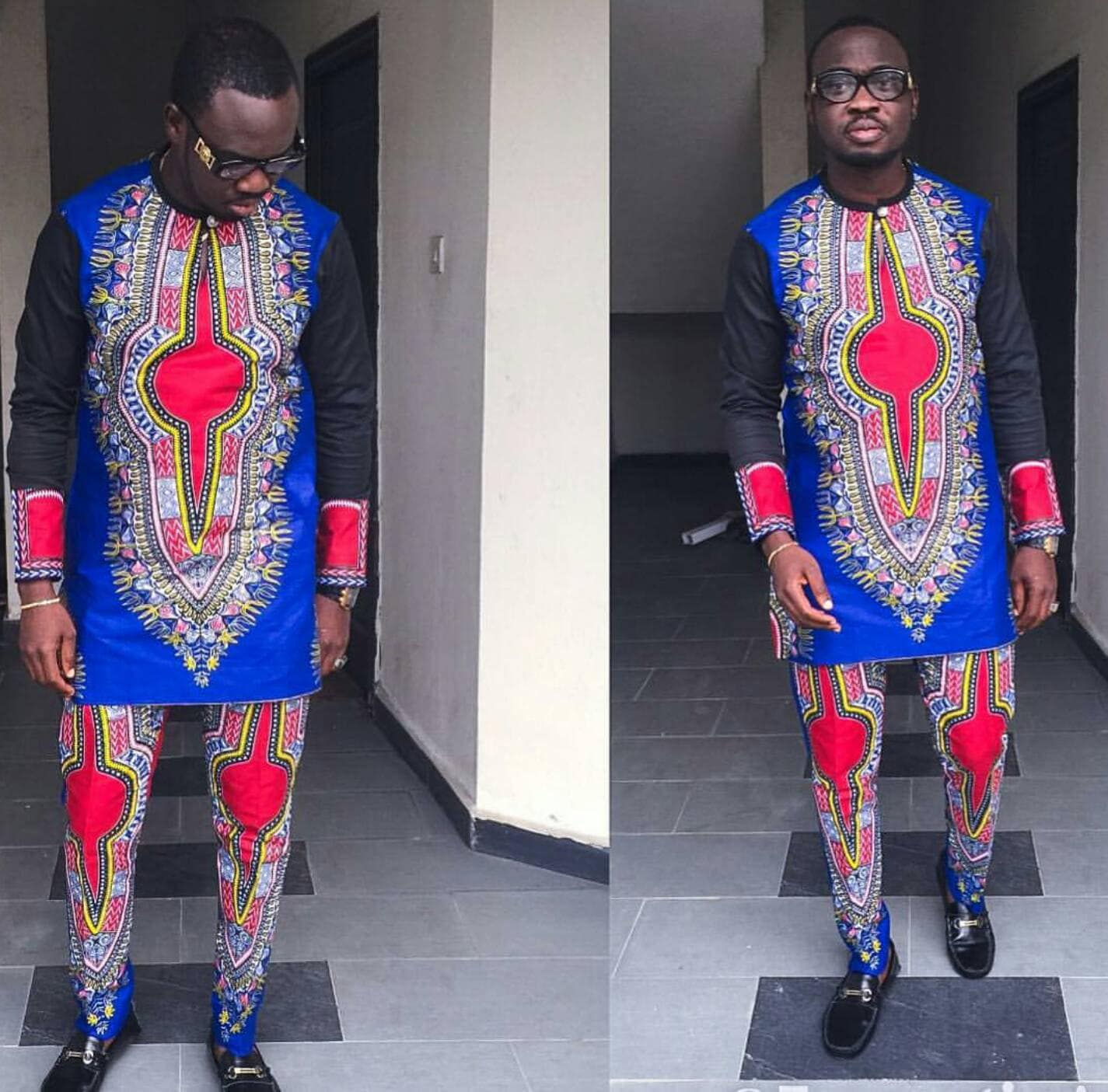African/dashiki for men /men clothing by AFROCOLLECTION2015
