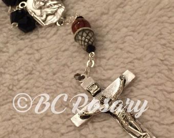 Catholic Basketball Auto Rosary