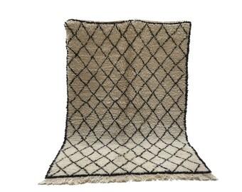 moroccan rug rug area rug 6x9 beni ourain rug nursery rug handmade rug