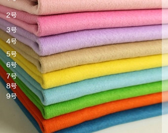Premium Cashmere Wool Blend Fabric with Double Plush Size - Extra Thick Cashmere Wool Blend Fabric - Wool Fabric - Cashmere Fabric A