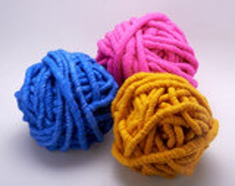 Loopy Mango - BIG LOOP Mini Skein Choose Your Color- Merino Wool
