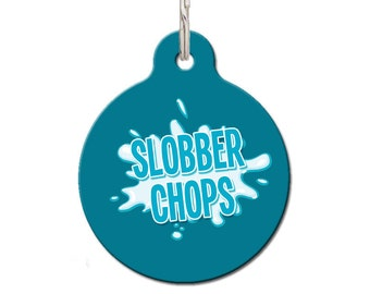 Slobber Chops Pet ID Tag | FREE Personalization