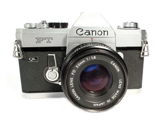 Canon FT QL 35mm Film SLR Camera Image- Digital Download - 4000px High Quality