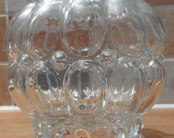 French Vintage Glass Lamp Shade.