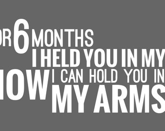 Hold You in My Arms Custom Banner