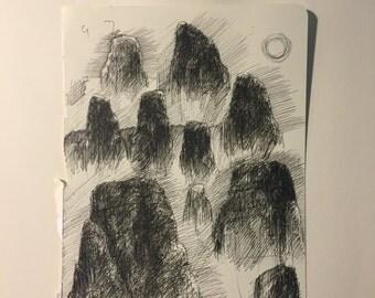 Rock Sketch #5