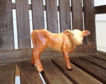 Vintage Mccoy calf planter