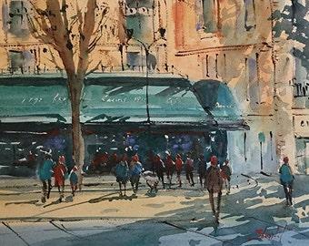 Aix En Provence III Les Deux Garcons