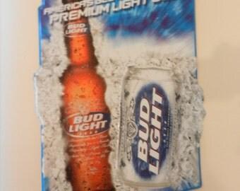 Bud Light - Tin Advertising Sign