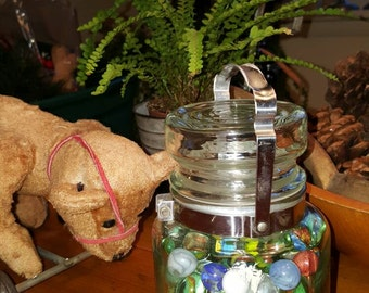 SuMMer SaLe...MY Vintage Marbles All In a Jar, toys, marbles, Antique toys
