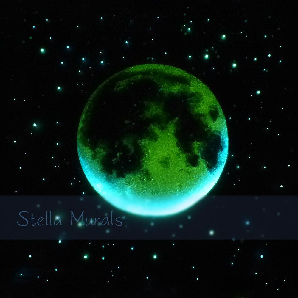 Glow Stars For Ceiling: Glow In The Dark Star Ceiling Moving Moon And Shooting Stars