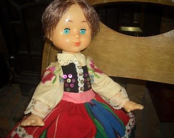 Polish doll vintage